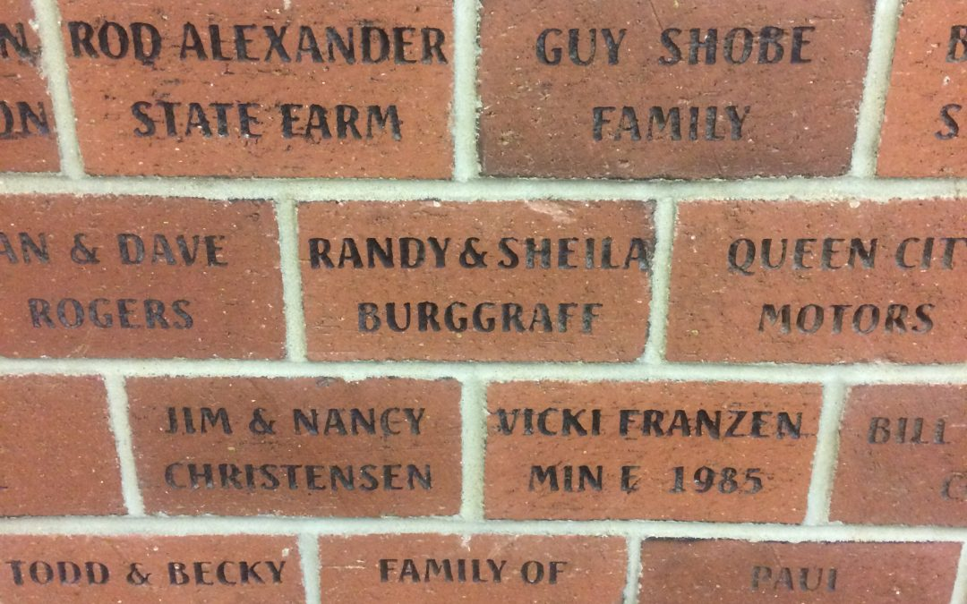 See Your Name on a Brick