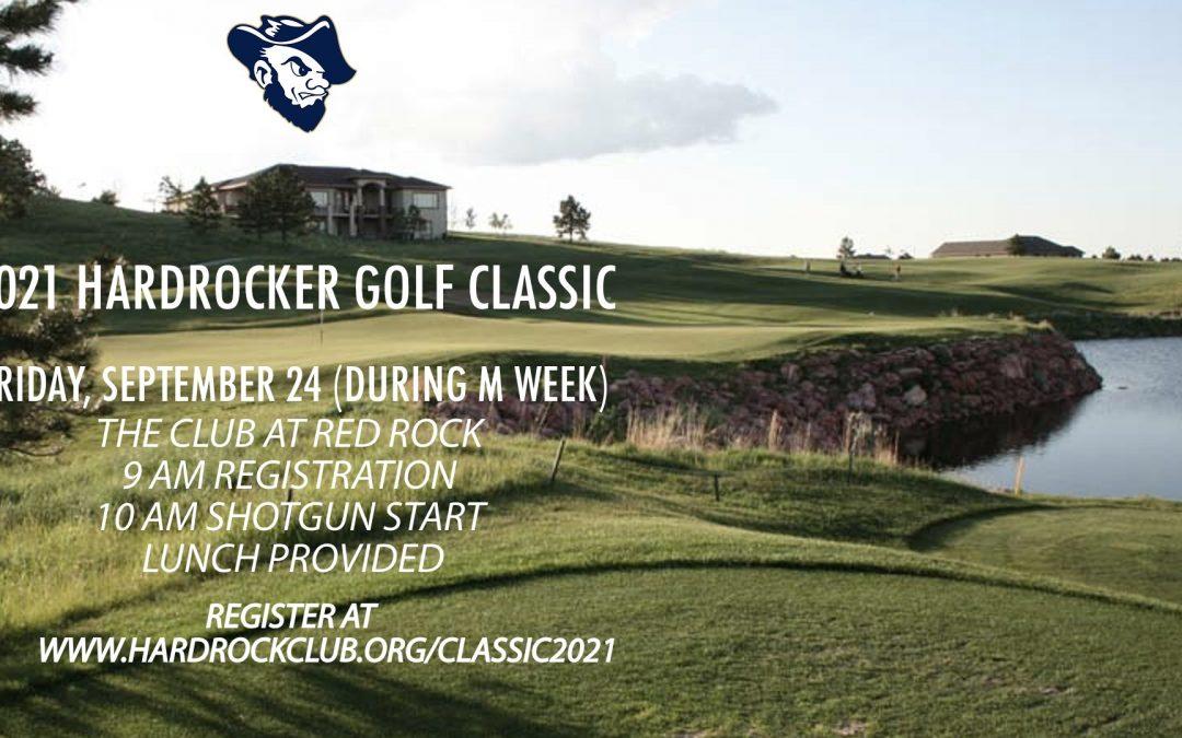Register for the Hardrocker Golf Classic